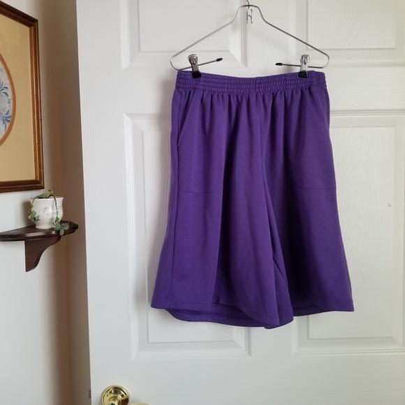 sara morgan Pants - 😎Sara Morgan purple wide leg shorts - 14p